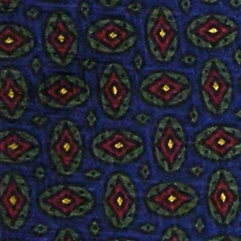 POLO RALPH LAUREN DIAMONDS GEOMETRIC NAVY BLUE RED SILK NECK TIE NECKTIE