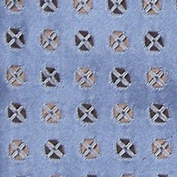 MARSHALL FIELDS POLKA DOT FOULARD LIGHT BABY SKY BLUE SILK NECK TIE NECKTIE